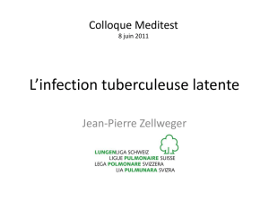 L`infection tuberculeuse latente