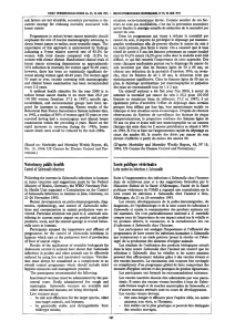 Veterinary public health Control of Salmonella infections Santé