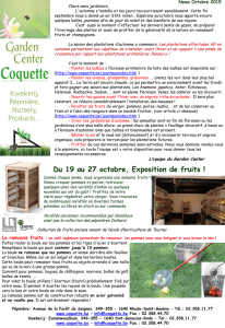 Octobre 2015 - coquette.be