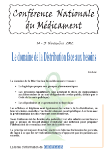 Distribution 15 Novembre 2012 - FNIC