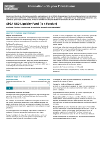 SSGA USD Liquidity Fund Institutional Accumulating Shares