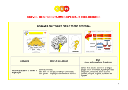 biological special programs - summary