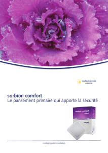sorbion comfort - medical systems solution