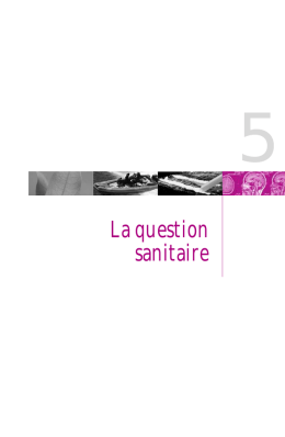 La question sanitaire