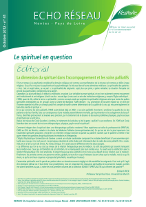 Le spirituel en question