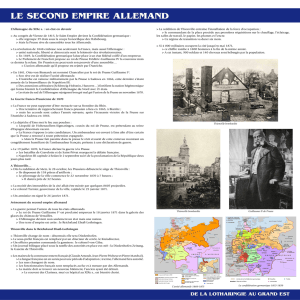 le second empire allemand