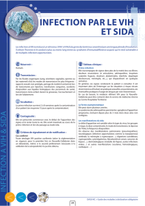 infection par le vih et sida - DASS-NC