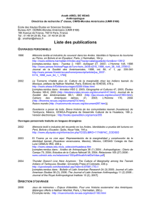 Liste des publications - cerma