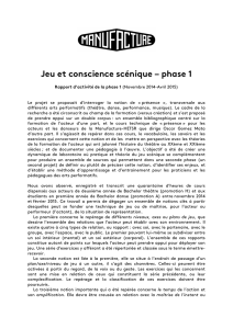 rapport phase 1 - site
