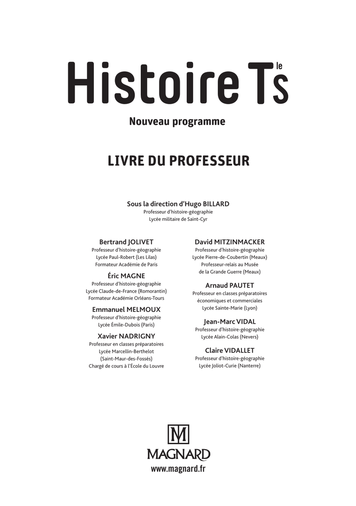 To The Pdf Le Livre Du Prof
