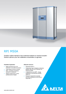 RPI M50A - Delta Energy Systems