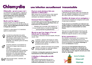 Chlamydia une infection sexuellement transmissible