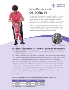 os solides - Osteoporosis Canada