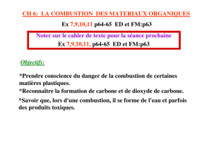 A) Chimie organique