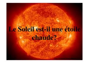 coucher de soleil cratère radiométrique datant
