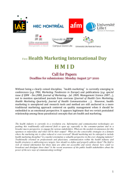 HMID - Society for Marketing Advances