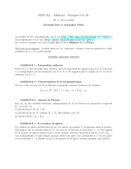 Feuille PC2 - Sites personnels de TELECOM ParisTech