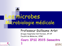 LES BACTERIES - IFSI