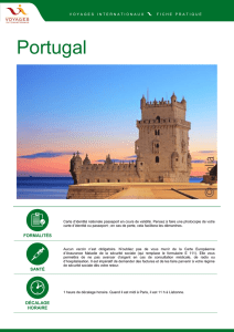 Portugal - Voyages Internationaux