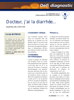 Février 2005 - STA HealthCare Communications