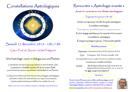 Constellations astrologiques 12-12-2015