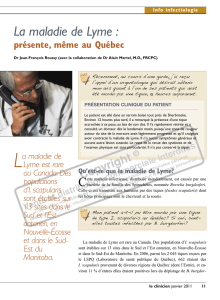 Info infectiologie - STA HealthCare Communications