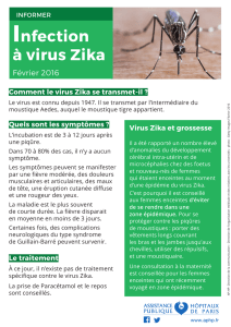 Infection à virus Zika