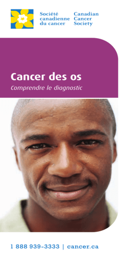 Cancer des os : Comprendre le diagnostic
