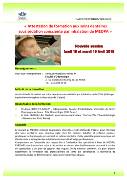 d`informations - Université de Reims Champagne