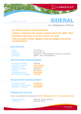 sideral - Laboulet