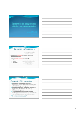 Épidémie d`IN