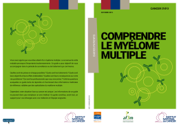 Comprendre le myélome multiple