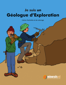 Géologue d`Exploration