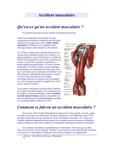 Accident musculaire