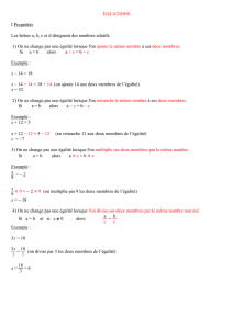 Equations - carmaths