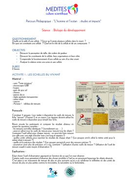 Etudes et impacts
