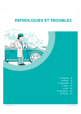 pathologies et troubles