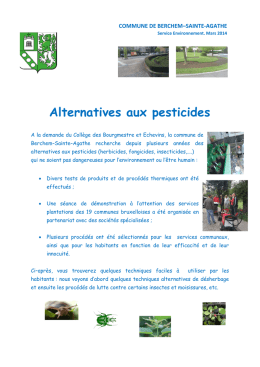 brochure () - Berchem Saint Agathe