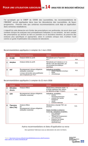 TAB_2016_02_24 Application des recommandations INESSS