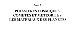 Chondrites - SFA Poitiers