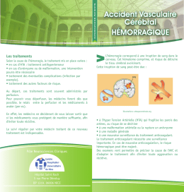 affection cardio vasculaire