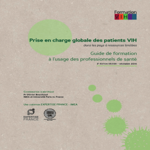 Prise en charge globale des patients VIH