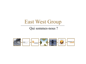 East West Group - East West Communications