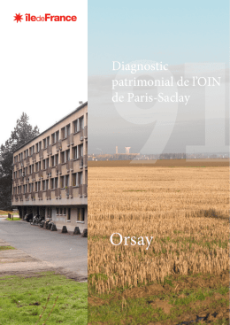 DIAGNOSTIC PATRIMONIAL DE L`OIN DE PARIS