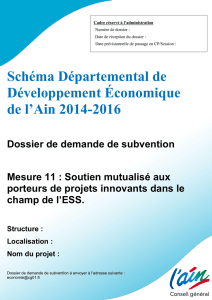 Dossier type - Appel à projets ESS permanent (accessible)