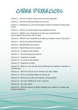 cahier d`exercices
