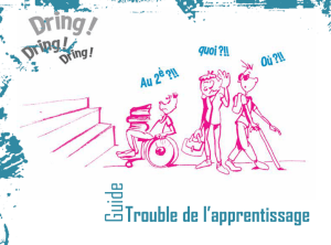 Trouble de l`apprentissage