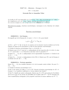 Feuille PC7 - Sites personnels de TELECOM ParisTech