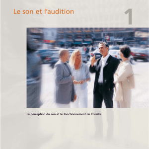 Le son et l`audition - Hearing aids from Widex