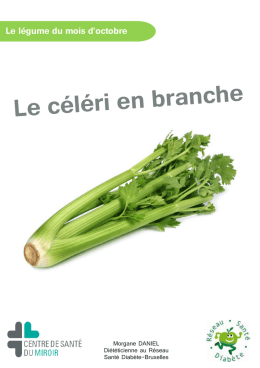 C leri r ve - Comment cuisiner le celeri en branche ...